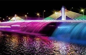 常山大桥文旅夜游改造工程