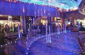南京水游城室内喷泉水景