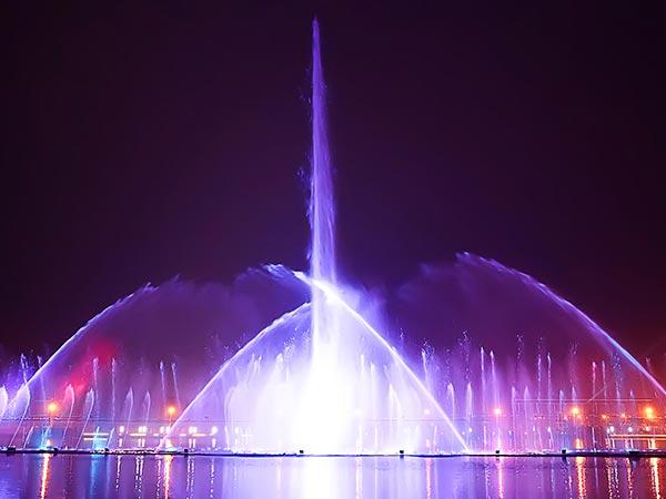 喷泉设计灯光照明有什么作用