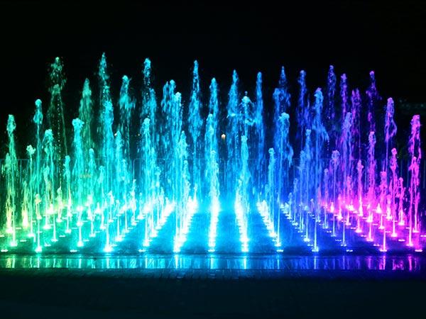 华东大峡谷互动旱式音乐喷泉水景
