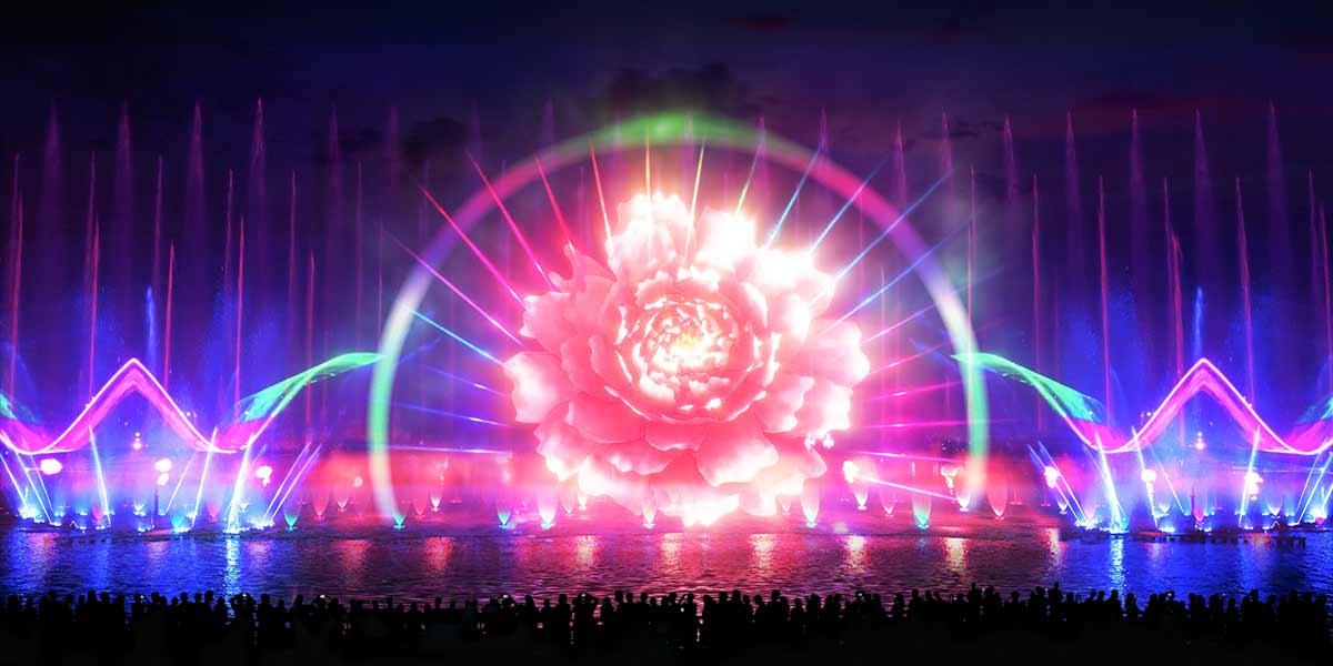 成安颐缘水秀喷泉水景工程