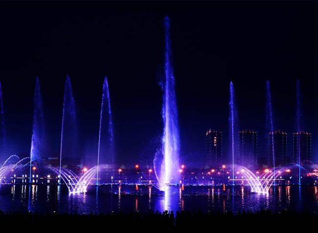 金蓝喷泉经营项目